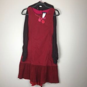 Jean Bourget dress with turtleneck bundle